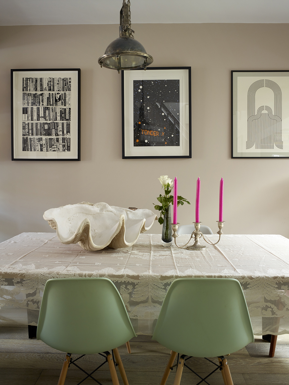 interior design dining table room